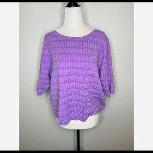 NWOT Boden Short-sleeve Top Purple